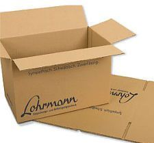Bedruckter Lohrmann Karton