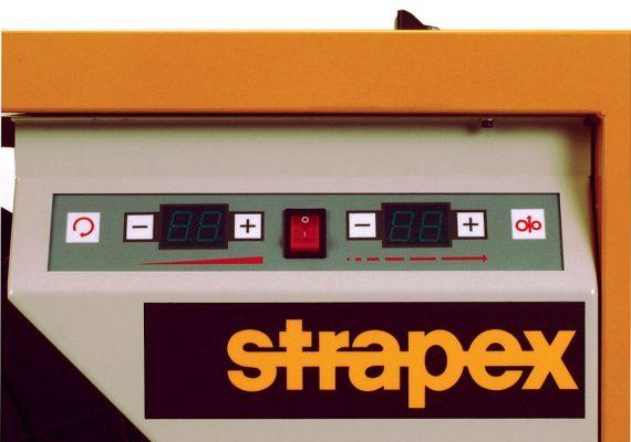 Strapex SMA Bedienfeld Front