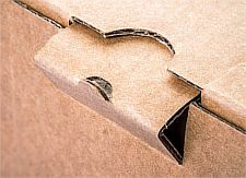 Close up lock Cardboard Box