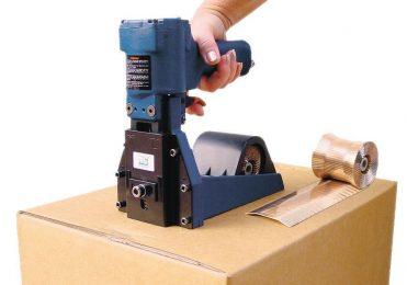 Druckluft Kartonverschlusshefter