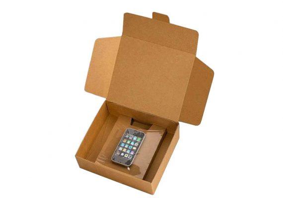Membranverpackung mit Handy