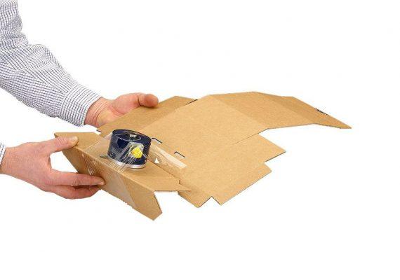 Membranverpackung schließen 2. Schritt