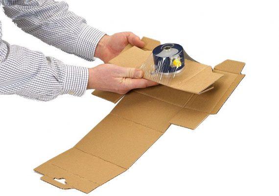 Membranverpackung schließen 3. Schritt