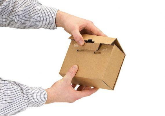 Membranverpackung schließen 6. Schritt