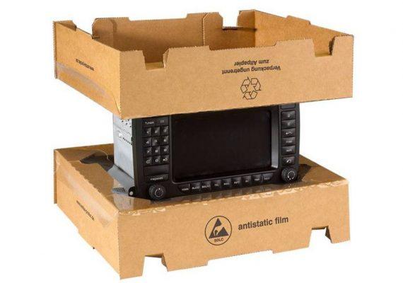 Membranverpackung mit Radio