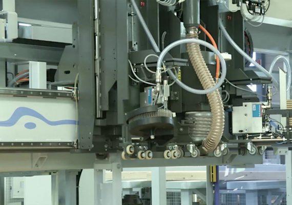 Modulgerät Coilnagler und Heftklammernagler in Weinmann Maschine eingebaut