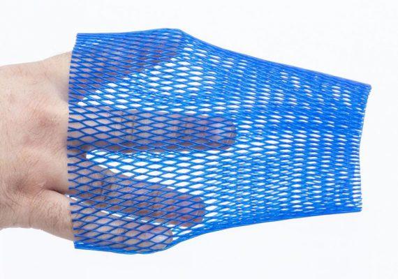 Netzschlauch blau Dehntest