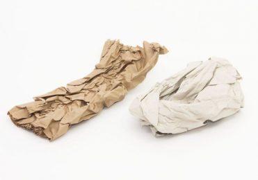 Packpapier zerknüllt