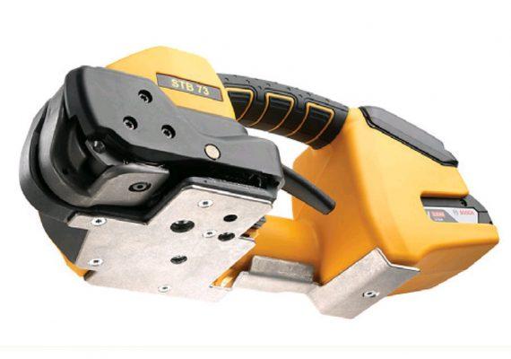 Strapex STB 73 mit montierter Schutzplatte