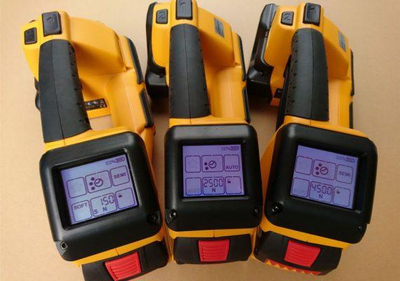 Strapex STB 71, STB 73 und STB 75 Touch-Display