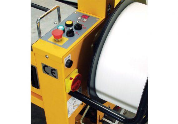 Umreifungsmaschine Strapex SMA 30 Bedienfeld